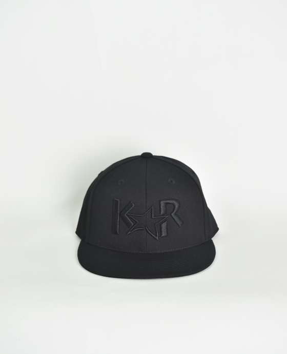 KAR Fitted Triple Black Hat 7 & 5/8