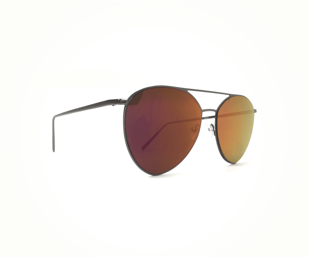 Sunrise Mirror Flat Lens Aviator