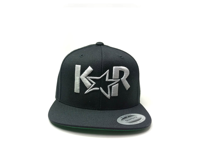 KAR Snap back Black/ Gray Hat