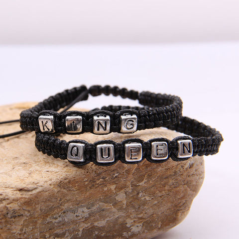 Braided Rope Alloy Bracelet