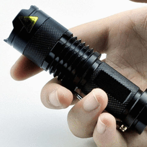 2000LM Waterproof Tactical LED Flashlight