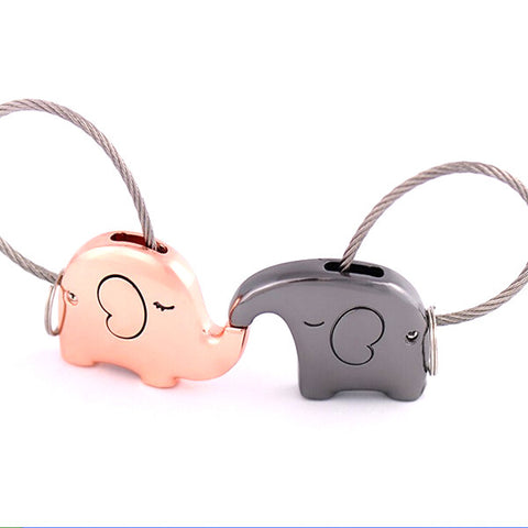 Elephant Love Keychain Set