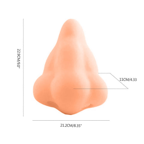 Funny Nose Shape Soap Dispenser