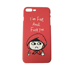 Funny Letters Phone Cover