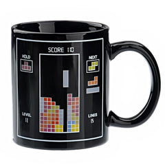 Tetris Pattern Magic Mug