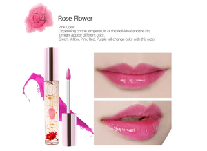 GLAMFOX - Lip Gloss - Rose Flower - 24K Gold & Volufiline voor PLUMPING effect