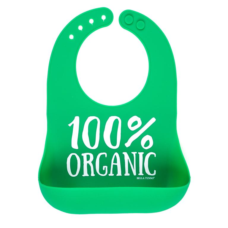 100% Organic Wonder Bib, Bella Tunno