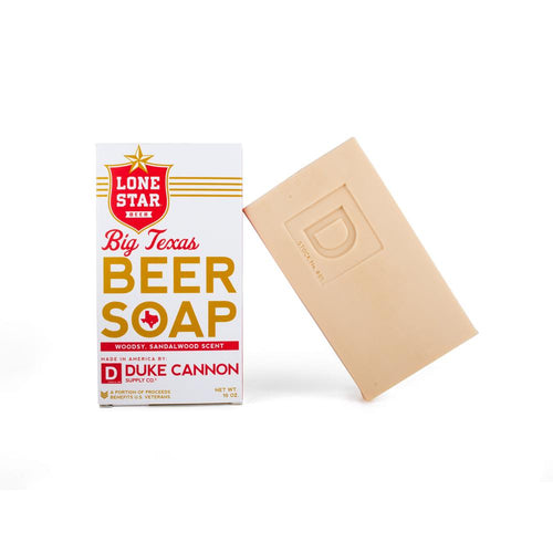 Texas Beer Soap, Duke Cannon, Lone Star State, Big Ass Soap, Woodsy, Sandalwood Scent
