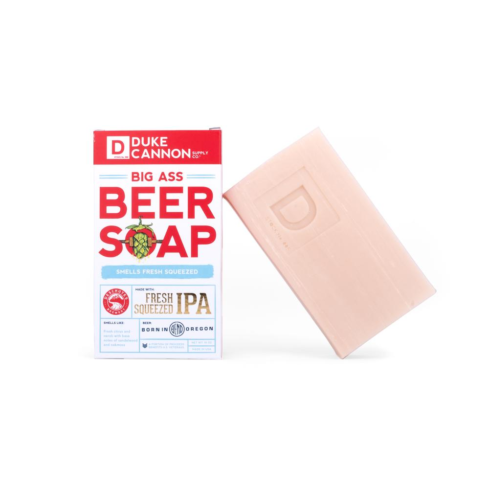 Big Ass Beer Soap, Duke Cannon, Big Ass Soap, IPA, Deschutes IPA, Fresh Squeezed