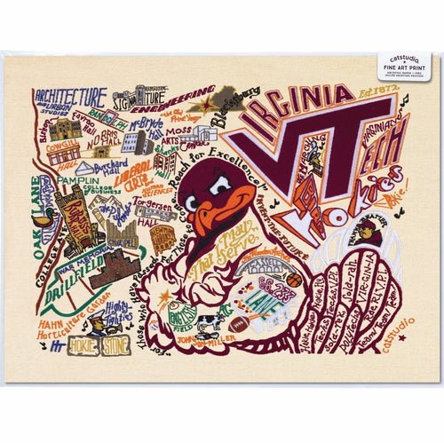 Catstudio Collegiate Art Prints