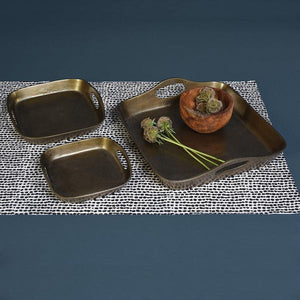 Square Brass Tray