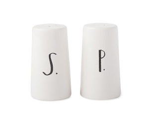 Stem Print Salt & Pepper Shakers
