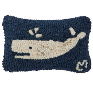 Spouting Whale Mini Pillow