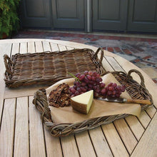 Load image into Gallery viewer, Rattan Trays