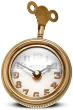 Load image into Gallery viewer, Antique Brass Retro Table Clock