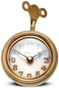 Antique Brass Retro Table Clock