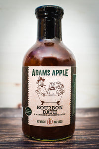 Adams Apple Bourbon Bath, A Marinade & Grilling Sauce