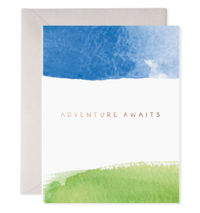 Adventure Awaits, E. Frances Paper