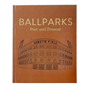 Ballparks Past & Present - Tan Leather
