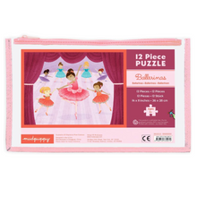 Load image into Gallery viewer, Ballerina Pouch Kids Puzzle