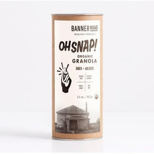 Oh Snap Granola, Banner Road Baking Co.