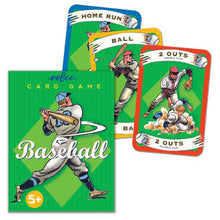 Load image into Gallery viewer, Baseball Playing Cards, eeBoo