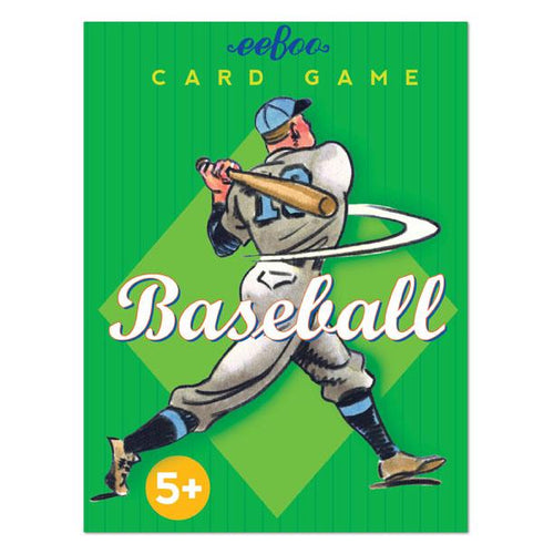 Baseball Playing Cards, eeBoo