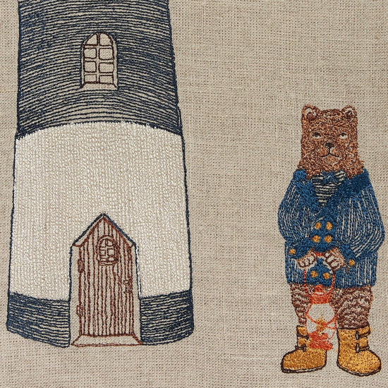 Lighthouse Bear Tea Towel