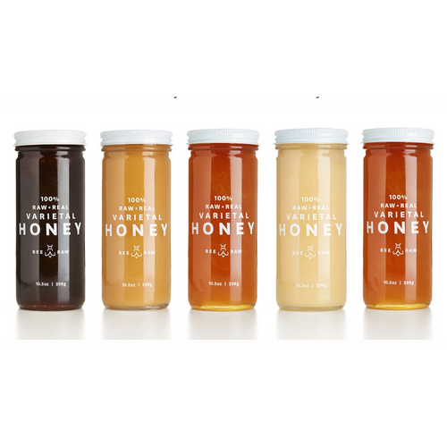 Bee Raw Honey Varieties