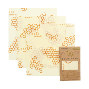 Honeycomb Wrap - Set of 3, Bee's Wrap