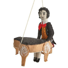 Load image into Gallery viewer, Beethoven Handmade Felt Ornament