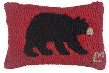 Load image into Gallery viewer, Black Bear Mini Pillow