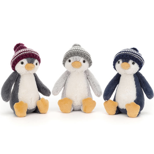 Bobble Hat Bashful Penguins