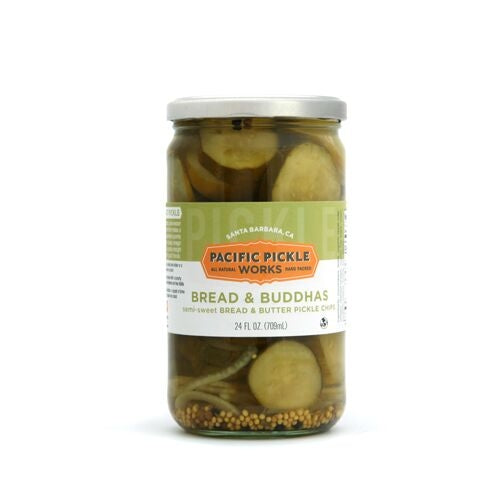 Bread & Buddhas Sweet Pickles