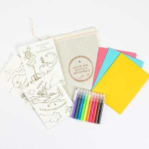 Coloring Card Kit