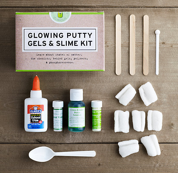 Glow Putty, Gels, and Slime Kit
