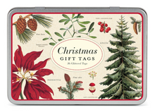 Load image into Gallery viewer, Christmas Botanica Gift Tags, Cavallini & Co.