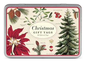Christmas Botanica Gift Tags, Cavallini & Co.