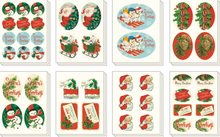 Load image into Gallery viewer, Christmas Stickers, Cavallini & Co.