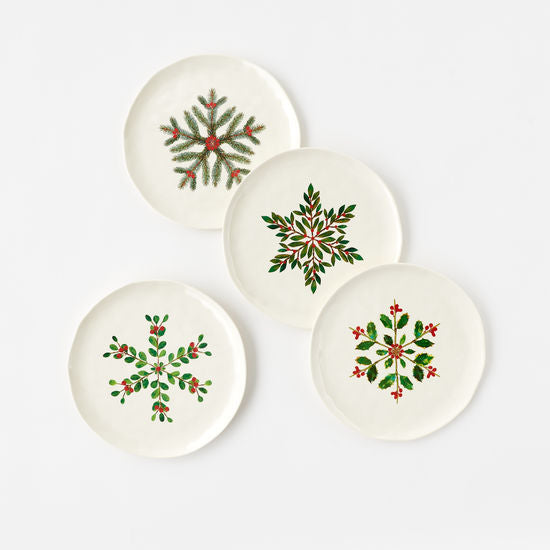 Botanical Luncheon Plate Set