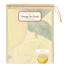 Load image into Gallery viewer, Citrus Tea Towel, Cavallini & Co.