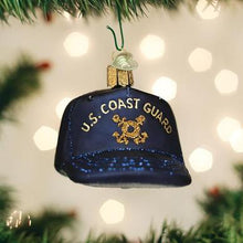 Load image into Gallery viewer, Coast Guard Cap Ornament
