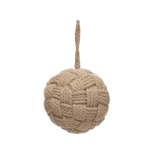 Cotton Rope Ball Ornament