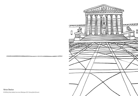 Iconic DC Coloring Book