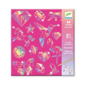 Scratch Stickers Diamond, Djeco
