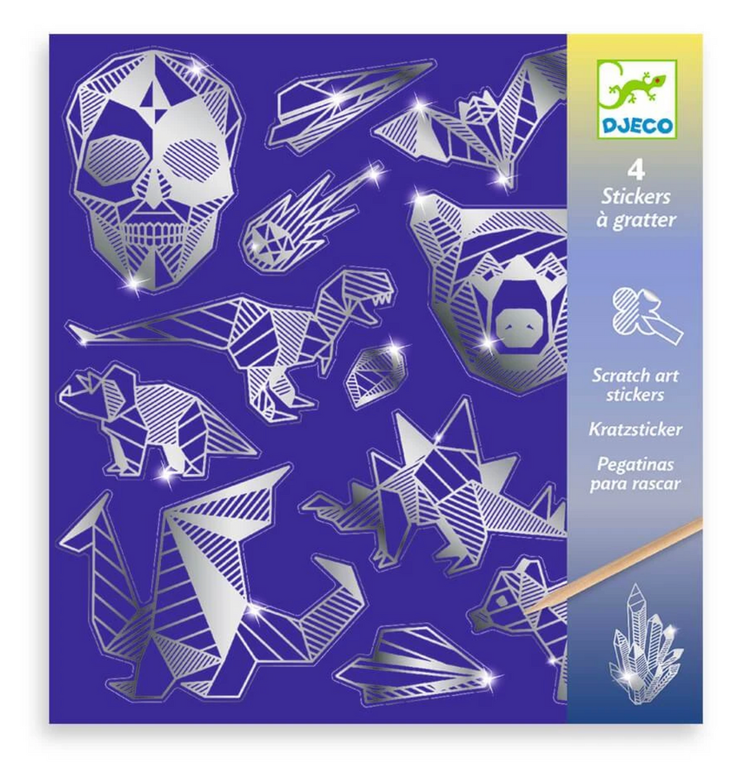 Scratch Stickers Iron, Djeco