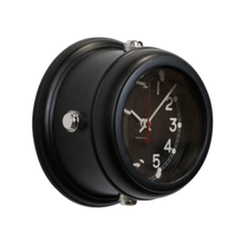 Load image into Gallery viewer, Deckhand Wall Clock, Black