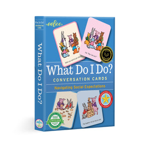 What Do I Do? Conversation Cards, eeBoo