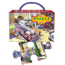 Load image into Gallery viewer, Fire Truck 20 Piece Puzzle, eeBoo