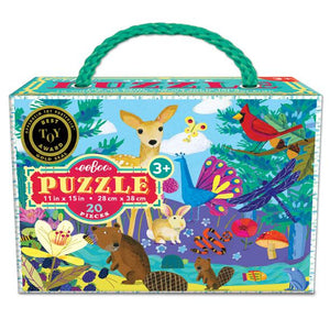 Life on Earth 20 Piece Puzzle, eeBoo